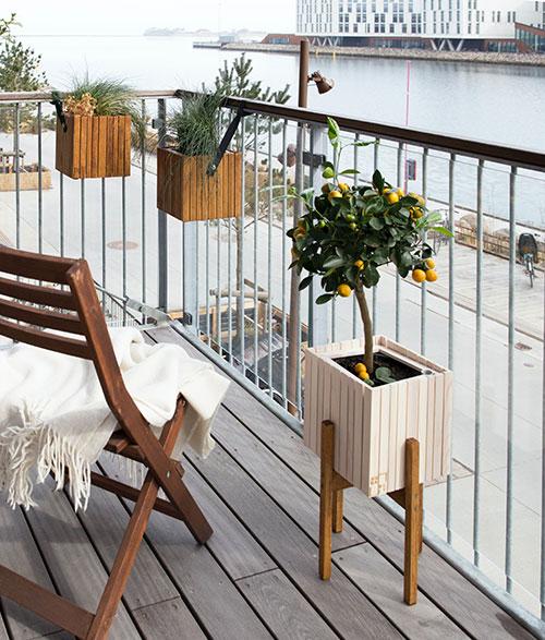 Doniczki dla roślin balkonowych